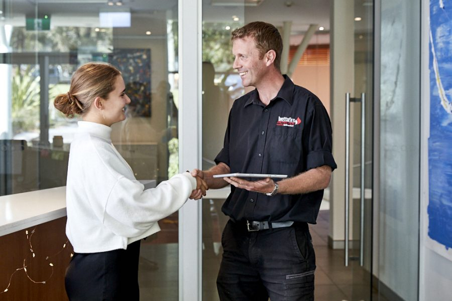AS 1851 fire safety inspection services Sydney, NSW