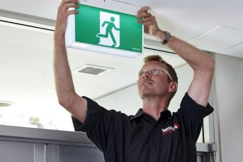emergency exit light testing, inspection and maintenance Sydney, NSW, by Betta Fire Protection