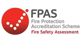 Betta Fire Protection is accredited under the FPAS scheme for Fire Safety Assessment