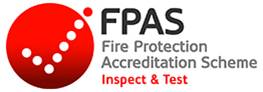 Betta Fire Protection is accredited under the FPAS scheme for Inspect & Test